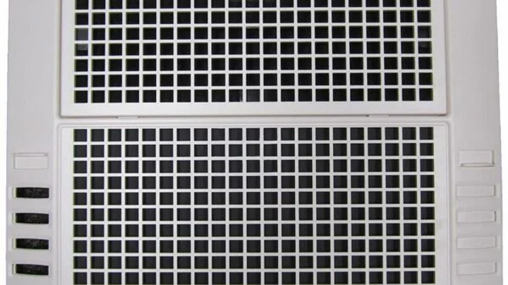 Coleman-Mach ChillGrille for Air Conditioner, Heat Ready, Lateral Ducts, White