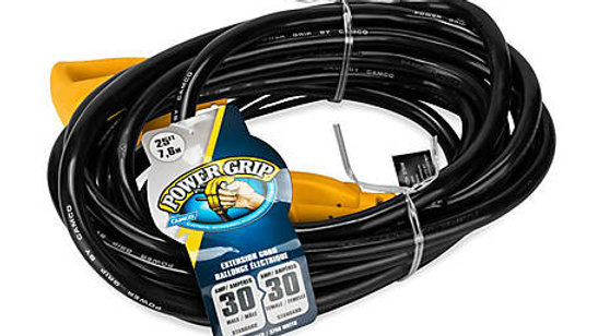25 ft. PowerGrip Electrical Power Extension Cord with Handle