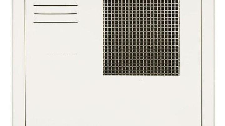 Polar White Flush-Mount Radius-Corner Access Door with Frame for 10, 12, & 16 ga