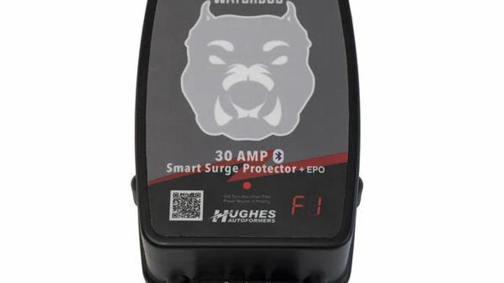 30 Amp Hughes Autoformer Power Watchdog Bluetooth Smart RV Surge Protector with