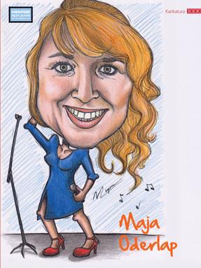 Edinstvene karikature v reviji Muzika!