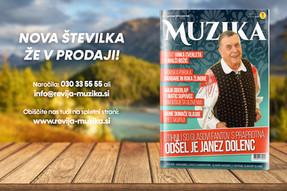 Na policah je novembrska številka revije Muzika!
