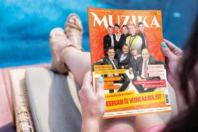 Na policah je dvojna – poletna številka revije Muzika!