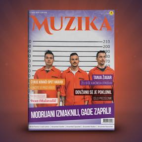 Izšla je aprilska številka revije Muzika!