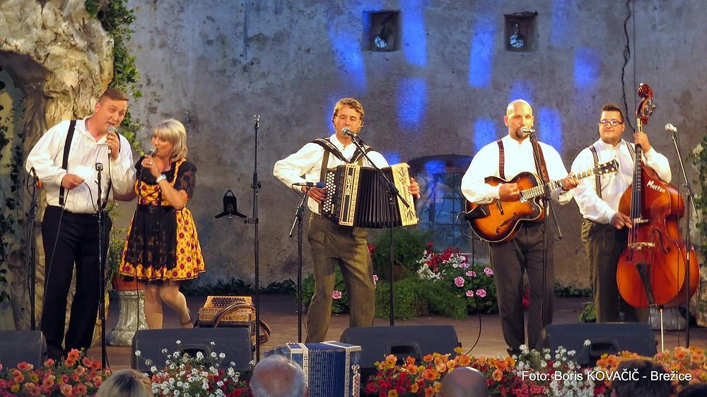 Vižarji, prejemniki Zlatega zmaja na festivalu Vurberk 2017