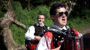 Slepi harmonikar Benjamin Škrab je ime meseca julija!
