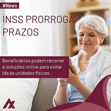 INSS prorroga por mais 60 dias prazo para evitar bloqueio de pagamentos