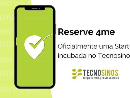Reserve 4me aprovada para incubação no Tecnosinos