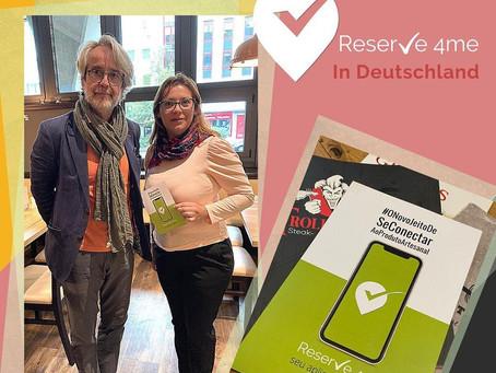 Pré-lançamento da apicativo Reserve 4me na Alemanha