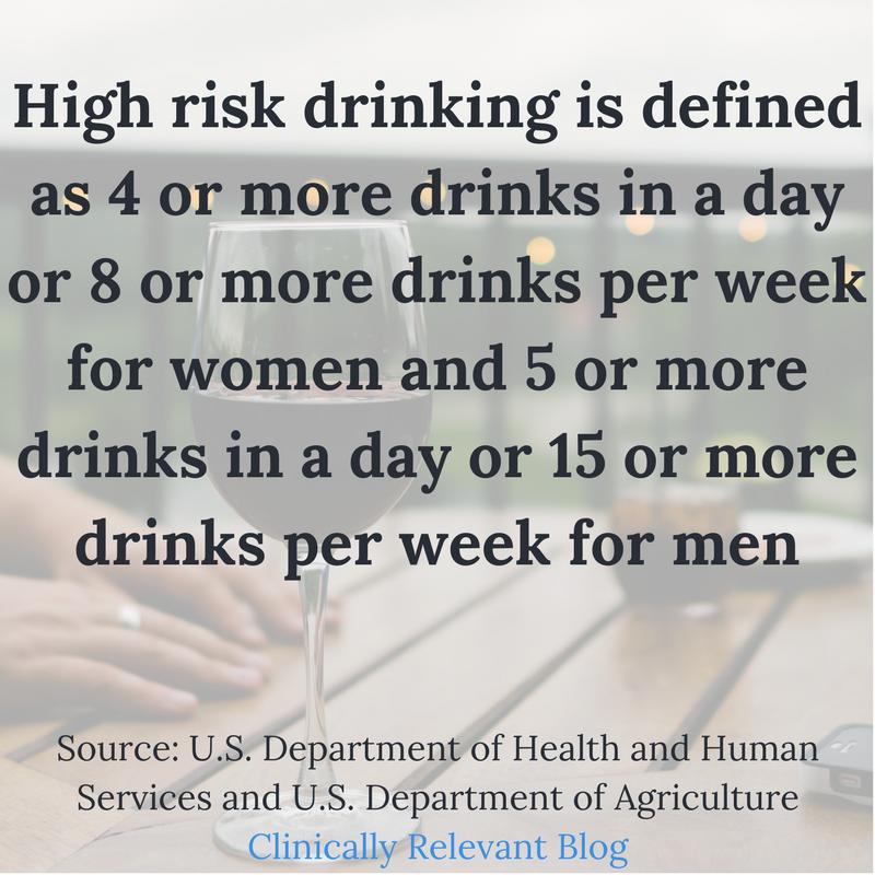 high risk drinking