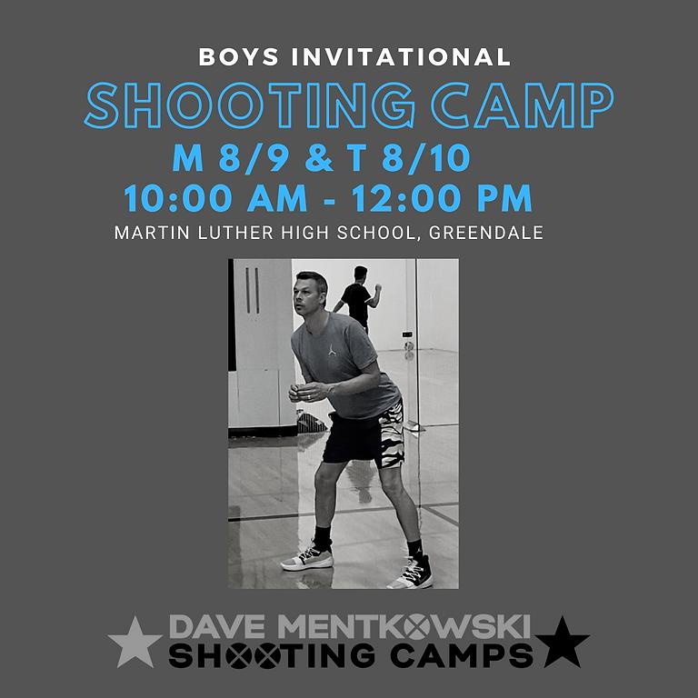 DMSC Boys Invitational Shooting Camp