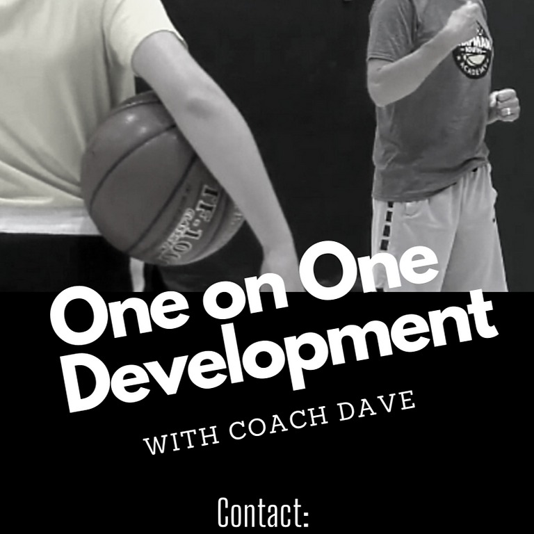One on One Development with Coach Dave