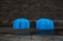 maya sundsten lion paws royal blue indigo street glasgow