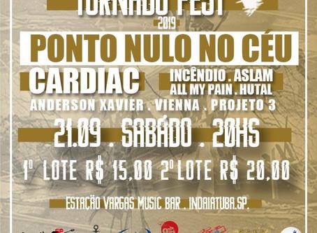 Primeira edição do Tornado Fest acontece neste sábado em Indaiatuba