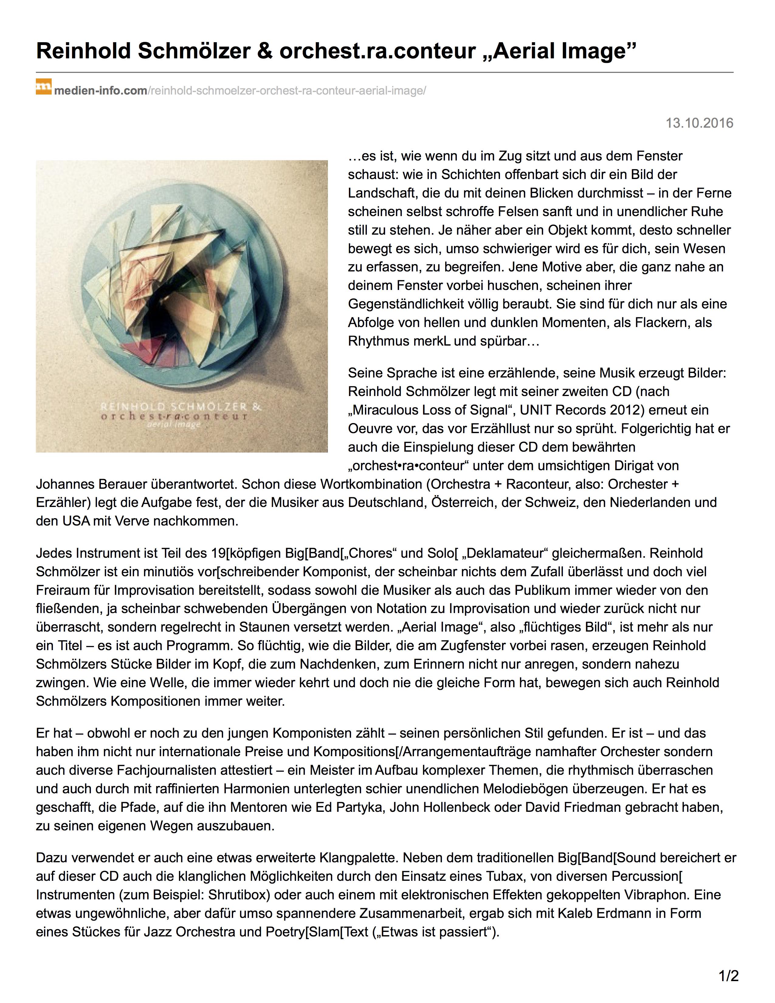 CD aktuell - Teil 1