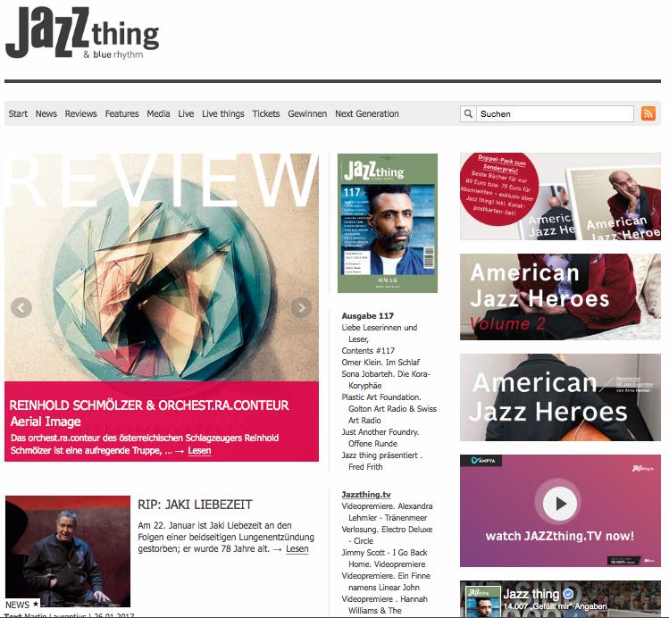 Jazzthing 1, Jan2017