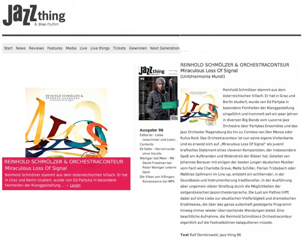 Jazzthing Nov.2012