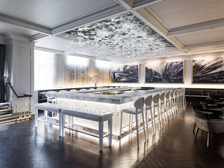 The luxurious and whimsical Monarch Bar is the passion project of architect and designer David Manic