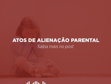 Atos de alienação parental