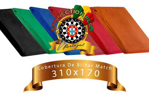 Cobertura de Bilhar Match  310 x 170