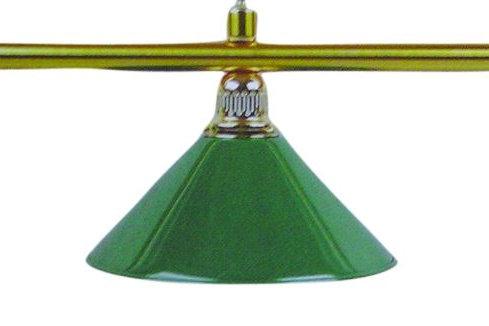 Candeeiro para Bilhar 3 Copas (Verde)