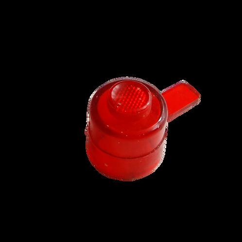 Pulsador botão com patilha
