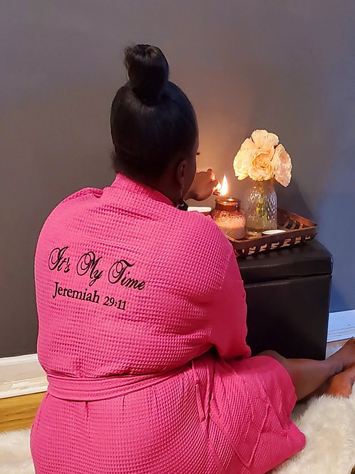 Special Edition Luxury Spa Robe