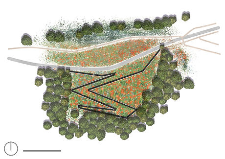 Ligne de vie, Landscape architectre office, LAO, parc, jardin, paysagiste concepteur, lyon, rhone alpes, heyrieux, ain, savoie, isere, paris, architecte paysagiste