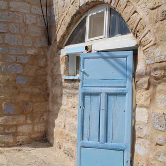 Tsfat Blue Wooden Door.jpg