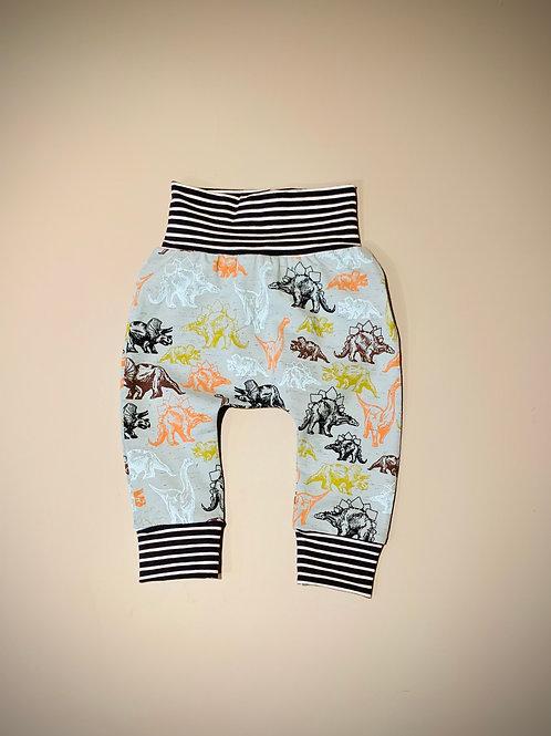 Harem pants in Dino fabric