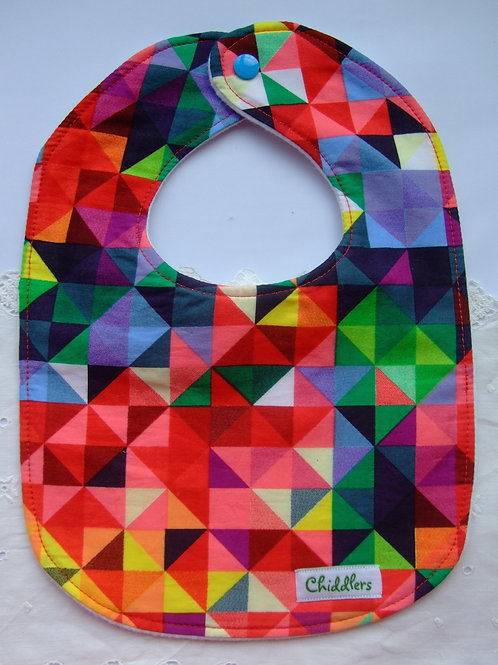 Triangles Dribble bib
