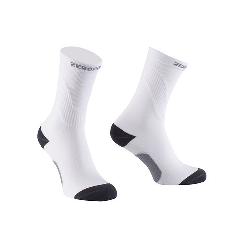 Crew Compression Sock - Weiss