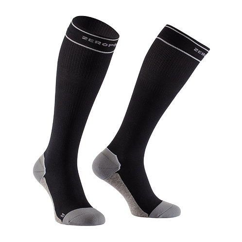 Hybrid Compression Sock 18 - Schwarz