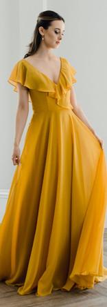 Floaty sleeves Bridesmaid dress