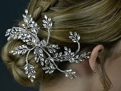 Diamante and Crystal Hair Clip