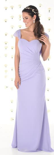 Cowl back Bridesmaid dress