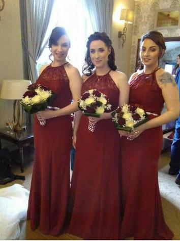 Jessica's bridesmaids