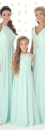 Mix and match bridesmaid style