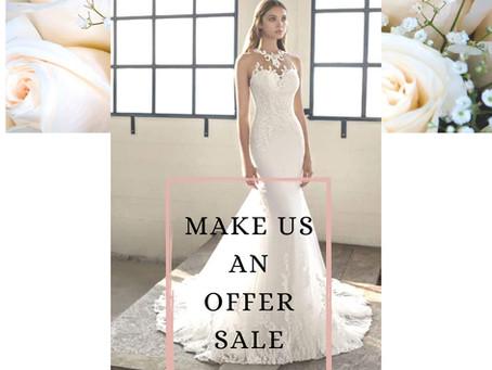 Make us an offer Sale