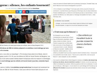 Court-métrage Alter Egaux réalisé par des élèves de Bergerac