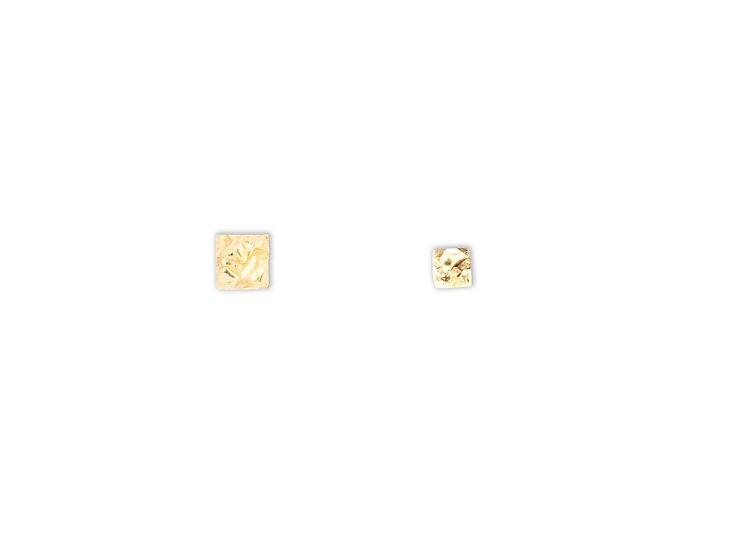AUTONOMY 2 EARRINGS - Sterling Silver 925 & 21K Gold Plated