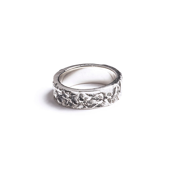 COPA RING - Oxidized Sterling Silver 925