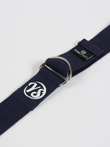 YS Yoga Strap - D-Ring - Navy Blue