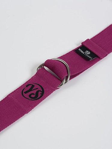 YS Yoga Strap - D-Ring - Violet