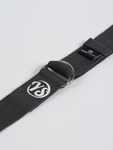 YS Yoga Strap - D-Ring - Graphite Grey