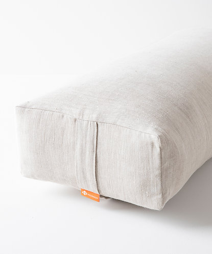 Rectangular Bolster LE - Natural Linen