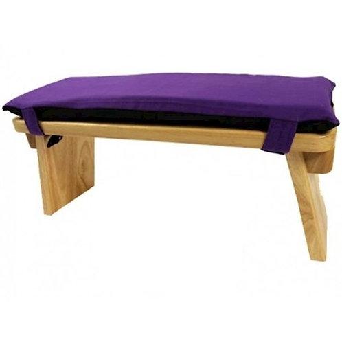 Meditatiebankkussen violet - 48x17x3 cm