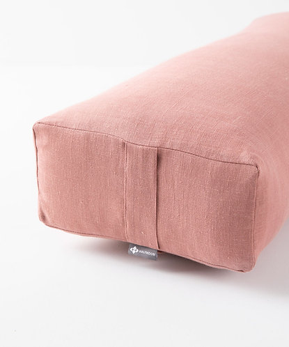 Rectangular Bolster LE - Rose Clay
