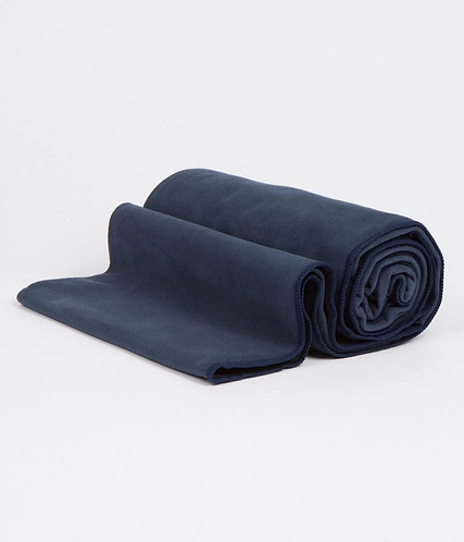eQua® Mat Towel - Manduka - Midnight