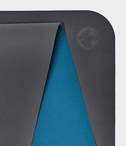 Manduka Begin yoga mat 5mm - Steel Grey
